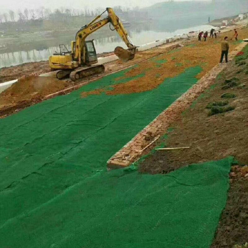 河南150克绿色土工布 绿色无纺布 长期供应绿色防尘布